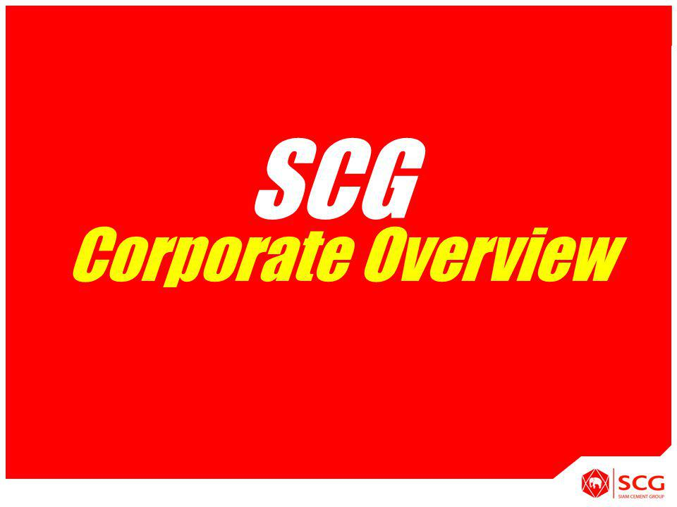 SCG APPLICATION [System] Corporate Overview